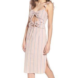 Wayf Verona Striped Dress~ New
